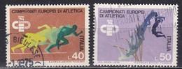 Repubblica Italiana, 1974 - Atletica Leggera - Nr.1260/1261 Usato° - 6. 1946-.. Repubblica