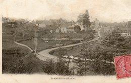 CPA - SAINT-MARTIN-la-MEANNE (19) - Aspect De L'entrée Du Bourg En 1907 - France