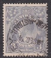 Australia SG 79 1924 King George V,4d Ultramarine,Single Watermark, Used - 1913-36 George V : Têtes