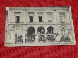 TIENEN - TIRLEMONT  -  Agents-pompiers De Tirlemont . Matériel .-  1909 - Tienen