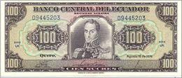 Ecuador 1966 ,100 Sucres ( EF). - Ecuador