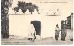 POSTAL    OUDJDA  -MARRUECOS  -LE MARABOUT PRÈS DU CONSULAT  (MARABOUT CERCA DEL CONSULADO ) - Marruecos