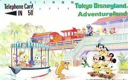 Télécarte Japon * 110-33219 - DISNEY DISNEYLAND - Série Parc D'Attraction TRAIN  (6409) Japan Phonecard * TELEFONKARTE - Disney