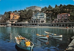 Cartolina Levanto Porticciolo E Ville Sul Lungomare 1978 - La Spezia