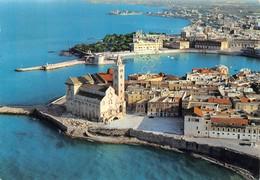 Cartolina Trani Porto E Cattedrale Panorama Aereo 1971 - Bari