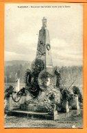 HC807, St-Aignan, Monument Des Soldats Morts Pour La Patrie, France, Circulée Sous Enveloppe - Monumenti Ai Caduti