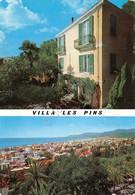 Cartolina Bordighera Villa Les Pins 2 Vedute 1971 - Imperia