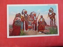 Okalahoma Indians  Ref 3003 - Indiens De L'Amerique Du Nord