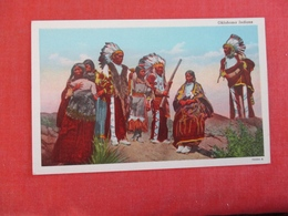 Okalahoma Indians  Ref 3003 - Native Americans