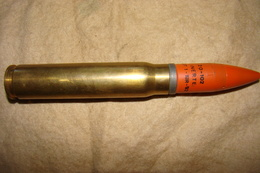 Obus 20x110 Hispano Neutralisée Inerte - Armes Neutralisées