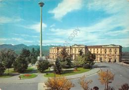 Cartolina Cuneo Stazione Ferroviaria - Cuneo
