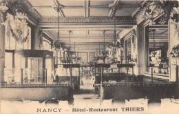 54 - MEURTHE ET MOSELLE / Nancy - 544862 - Hôtel Restaurant Thiers - Nancy