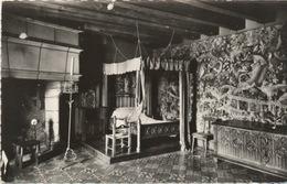 331 - 1956 Langeais Chambre à Coucher Tapisserie Du XV  - TRAVELLED - Langeais