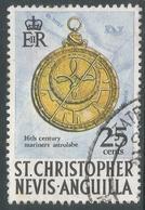 St Kitts-Nevis. 1970 QEII. 25c Used. SG 216 - St.Christopher-Nevis-Anguilla (...-1980)