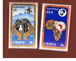 ETIOPIA (ETHIOPIA)   -  SG 821.822  - 1972  HAILE SELASSIE BIRTHDAY                                     - (MINT)** - Etiopia