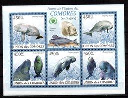 Serie Nº 2416/20 Comores - Delfines