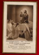 Image Pieuse Holy Card Communion Geneviève Froger Argenteuil Noël 1915 - Ed Bouasse Lebel Lecène 8200 - Imágenes Religiosas