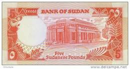 SUDAN P. 45 5 P 1991 UNC - Soudan