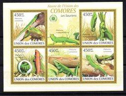 Serie Nº 2326/30  Comores - Non Classés