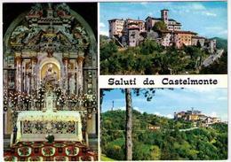 SALUTI DA CASTELMONTE - PIU' FOTOGRAMMI  (UD) - Udine
