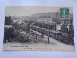 VITTEL : Vue Panoramique De La Gare ,n°13 - Vittel Contrexeville