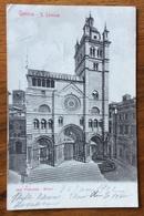 GENOVA S.LORENZO CARTOLINA VIAGGIATA  IN FRANCIA ANNULLO AGEN LOT ET GARONNE 22/6/1902 - Genova