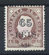 Angola N° 53* (MH) 1902 - Louis 1er - Angola