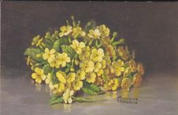 BOUQUET De Fleurs--( Illustrateur  MARCELLO MIACHINO )--voir 2 Scans - Flowers