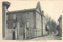 11 MONTLAUR  Château De F. MAS  La Promenade   2scans - Francia