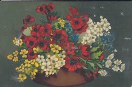 BOUQUET De Fleurs--( Serie Artistica Velluto 1129 )--voir 2 Scans - Flowers