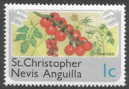 St Kitts-Nevis. 1978 Definitives. 1c MNH. SG 392 - St.Christopher-Nevis-Anguilla (...-1980)