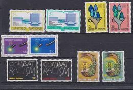 Nations Unies New-York N° 273 / 82 XX Année Complète 1977  Les 10 Valeurs Sans Charnière, TB - Ungebraucht