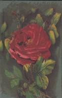 ROSE--( Serie Artistica Velluto 1115 )--voir 2 Scans - Flowers