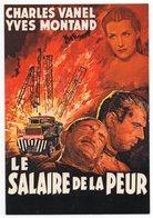 CPM - Editions F Nugeron - E 38 - LE SALAIRE DE LA PEUR, Avec Charles VANEL Et Yves MONTAND - Posters On Cards