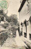 CPA - ISCHES (88) - Aspect De La Grande Cascade Force Motrice Du Sanatorium En 1907 - Autres Communes
