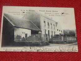 "TIELT  - O.L.V. THIELT  - Stoombrouwerij "" Forto ""  - Brasserie à Vapeur "" Forto ""   -  1904 - Tielt-Winge"