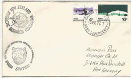 NUEVA ZELANDA ANTARTIDA ANTARCTIC VANDA STATION 1977 MAT SCOTT BASE - Estaciones Científicas