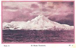 """"""" Cap Polonio """" A La Tierra Del Fuego """"  Série A - N°1 El Monte Sarmiento - Argentina"""