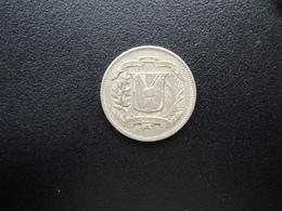 RÉPUBLIQUE  DOMINICAINE : 10 CENTAVOS   1967   KM 19a    TTB+ - Dominicaine