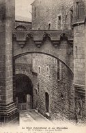 CPA LE MONT SAINT MICHEL - L'ABBAYE - LE PONT FORTIFIE - Le Mont Saint Michel