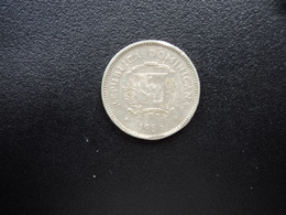RÉPUBLIQUE  DOMINICAINE : 10 CENTAVOS   1986   KM 60    SUP * - Dominicana