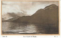 """"""" Cap Polonio """" A La Tierra Del Fuego """"  Série B - N°1 -  En El Canal De Beagle - Argentina"""