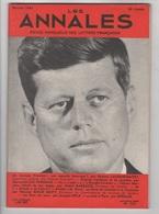 LES ANNALES 02 1961 - JOHN FITZGERALD KENNEDY - FELICIEN MARCEAU - RECITATIF FRANCAIS - - Journaux - Quotidiens
