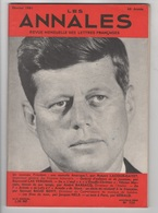 LES ANNALES 02 1961 - JOHN FITZGERALD KENNEDY - FELICIEN MARCEAU - RECITATIF FRANCAIS - - 1950 - Today