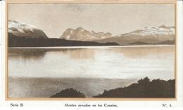 """"""" Cap Polonio """" A La Tierra Del Fuego """"  Série B - N°3  -  Montes Nevados En Los Canales - Argentina"""