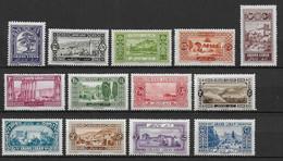 GRAND-LIBAN - YVERT N°50/62 * CHARNIERE CORRECTE - COTE = 43 EUR. - Grand Liban (1924-1945)