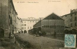 Alais - Alès - Place Du Marché - Halle - Belle Animation - WXC5 - Alès