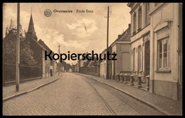 ALTE POSTKARTE OVERMEIRE EINDE DORP Belgique Belgie Belgien Ansichtskarte Cpa Postcard AK - Berlare