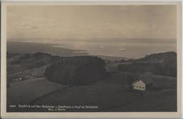 Ausblick Auf Den Bodensee Vom Gasthaus Zum Gupf Ob Rehetobel, Zeppelin  - Bes. J. Oertle - Photo: Gross - AR Appenzell Rhodes-Extérieures