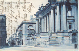 1927  Malta Valetta  Opera House   ( Vers Dessau Germany ) - Malta